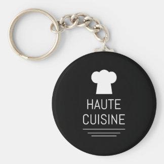 Gastrónomo francés de la cocina de Haute del Llavero Redondo Tipo Pin