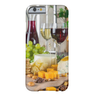 Gastronomy Fruit Wine & Cheese iPhone 6/6s Case