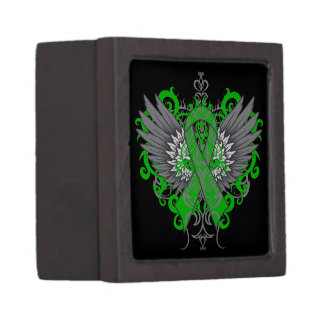 Gastroparesis Awareness Cool Wings Premium Jewelry Boxes