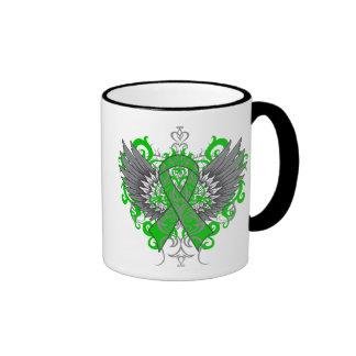 Gastroparesis Awareness Cool Wings Ringer Coffee Mug
