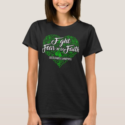 gastroparesis awareness heart T_Shirt