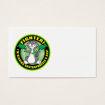 Gastroparesis Boxing Cat Business Card