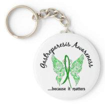 Gastroparesis Butterfly 6.1 Keychain