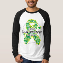 Gastroparesis Butterfly Ribbon T-Shirt