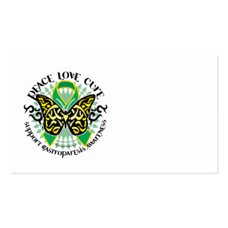 Gastroparesis Butterfly Tribal 2 Business Cards