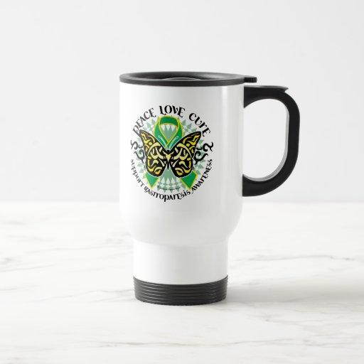 Gastroparesis Butterfly Tribal 2 Coffee Mugs