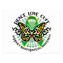 Gastroparesis Butterfly Tribal 2 Postcard