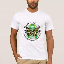 Gastroparesis Butterfly Tribal 2 T-Shirt