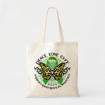 Gastroparesis Butterfly Tribal 2 Tote Bag
