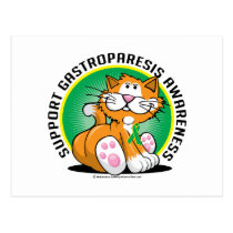 Gastroparesis Cat Postcard