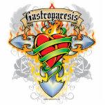 Gastroparesis Cross & Heart Photo Sculptures
