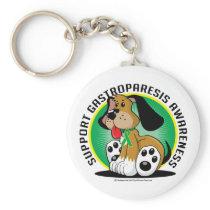 Gastroparesis Dog Keychain