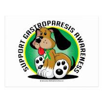 Gastroparesis Dog Postcard