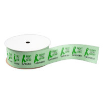 "Gastroparesis Fight for the  Cure 1.5"" Grosgrain Ribbon"