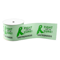 "Gastroparesis Fight for the  Cure 3"""" Grosgrain Ribbon"
