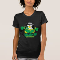 Gastroparesis Fighting Penguin T-Shirt
