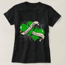 Gastroparesis Hope Faith Dual Hearts T-Shirt