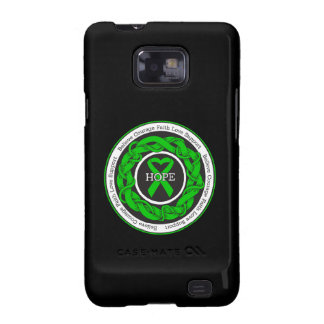 Gastroparesis Hope Intertwined Ribbon Galaxy SII Case