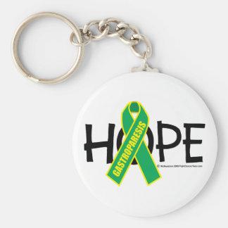 Gastroparesis Hope Keychain