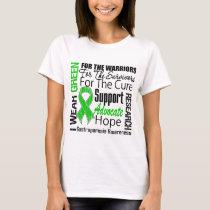 Gastroparesis I Wear Green Ribbon Tribute T-Shirt