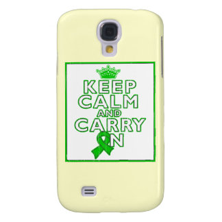 Gastroparesis Keep Calm and Carry ON Galaxy S4 Cases
