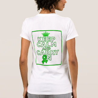 Gastroparesis Keep Calm and Carry ON Tshirt