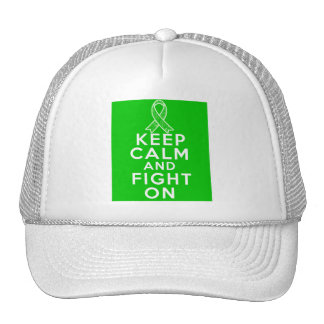 Gastroparesis Keep Calm and Fight On Trucker Hat