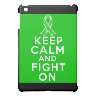 Gastroparesis Keep Calm and Fight On iPad Mini Cases