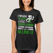 gastroparesis kicking warrior women T-Shirt