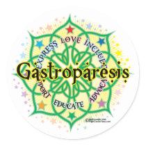 Gastroparesis Lotus Classic Round Sticker