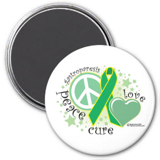 Gastroparesis Peace Love Cure Magnet