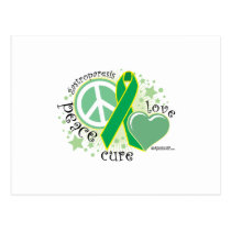 Gastroparesis Peace Love Cure Postcard