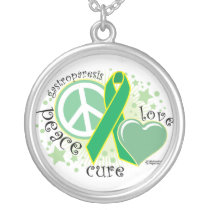 Gastroparesis PLC Silver Plated Necklace