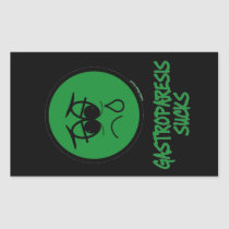 Gastroparesis Sucks Rectangular Sticker