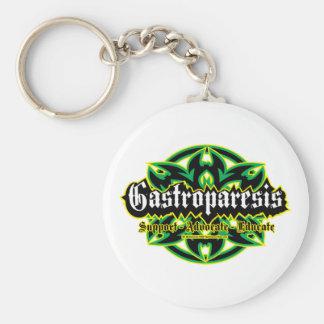 Gastroparesis Tribal Keychain