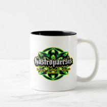 Gastroparesis Tribal Two-Tone Coffee Mug