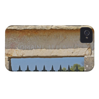 Gate and key stone carved with Montrachet, Case-Mate iPhone 4 Cases