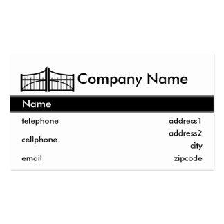 Gate Business Card Design
