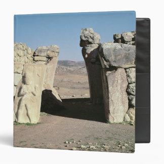 Gate del rey de las paredes de Hattusas