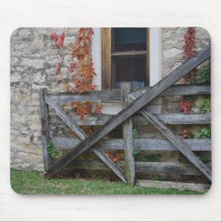 Gate in Flint Hills Mousepad