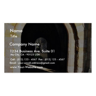 Gate In The Old Abbey Business Card Template
