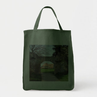 gate in town wall tote bags
