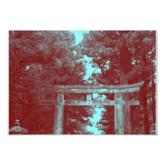 Gate leading to Temple Card