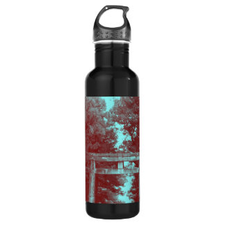Gate leading to Temple Stainless Steel Water Bottle