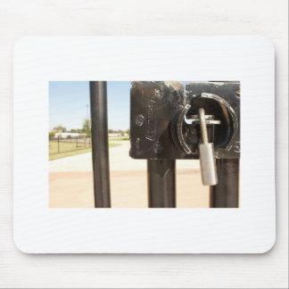 Gate Lock Mouse Pad