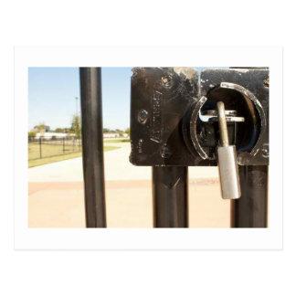 Gate Lock Postcard