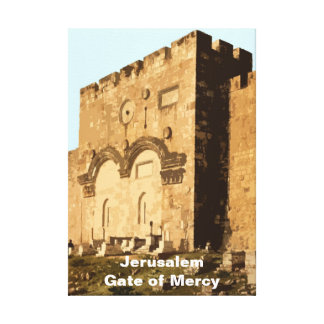 Gate of Mercy Canvas Print