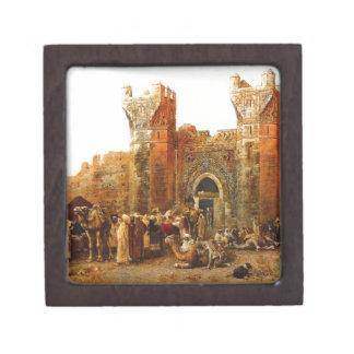 Gate of Shehal, Morocco by Edwin Lord Weeks Jewelry Box