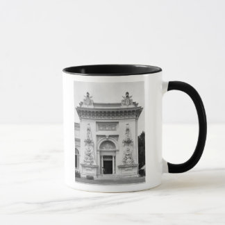 Gate of the military exhibition mug