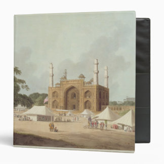 Gate of the Tomb of the Emperor Akbar (1542-1605), Vinyl Binders
